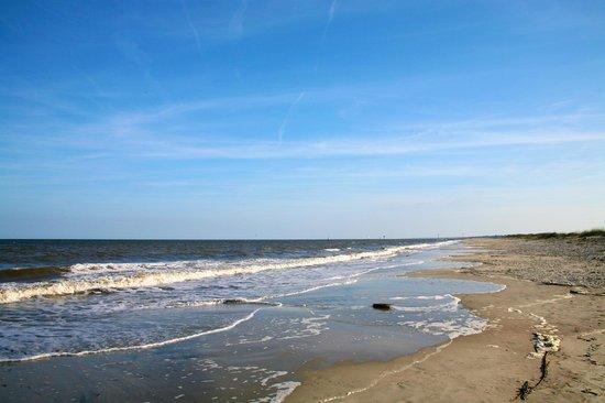 The Cloister at Sea Island: The beach at Sea island