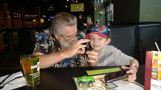 BEST WESTERN PLUS Ontario Airport : Me and my Grandson