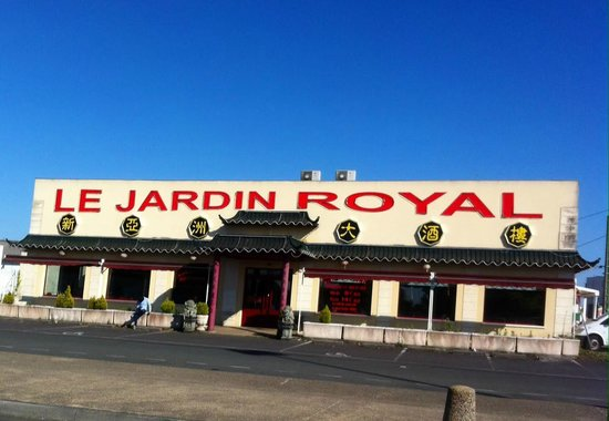 Le jardin royal poitiers restaurant reviews phone for Restaurant le jardin domont 95