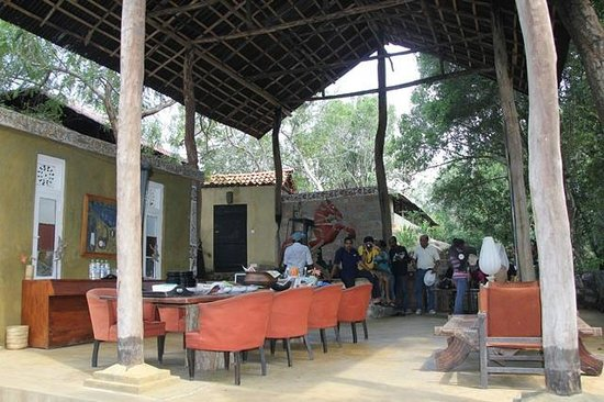 Galapita Eco Lodge: The dining area
