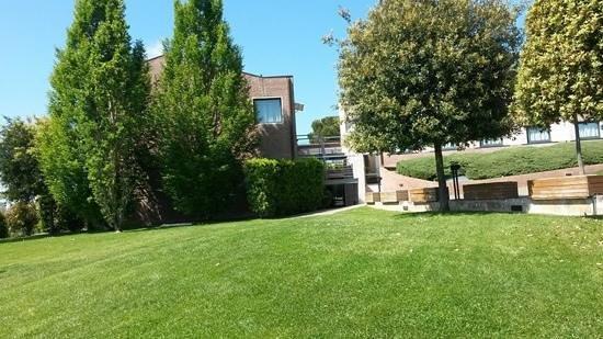 Sangallo Park Hotel : giardino esterno