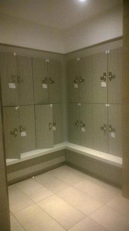 Thalazur de Cabourg : vestiaires