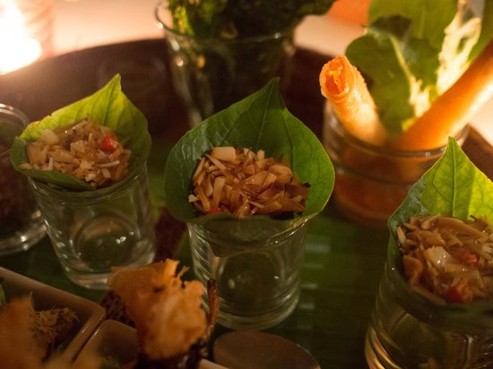Ginger & Kafe: Antipasto misto Thai N°1