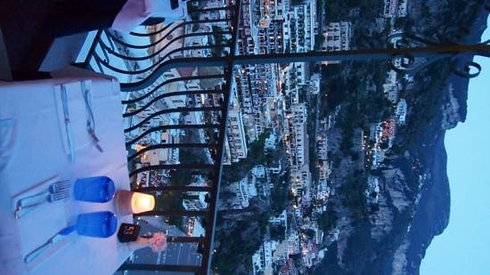 Caffè Positano : beautiful view...music would add to ambience