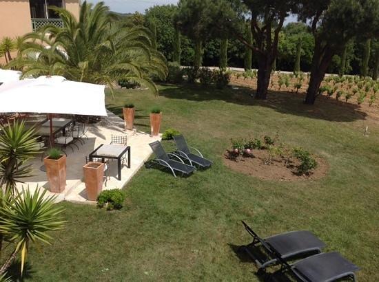Hotel La Vigne de Ramatuelle : la vue depuis la chambre 5