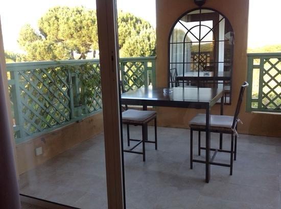 Hotel La Vigne de Ramatuelle : le balcon chambre 5