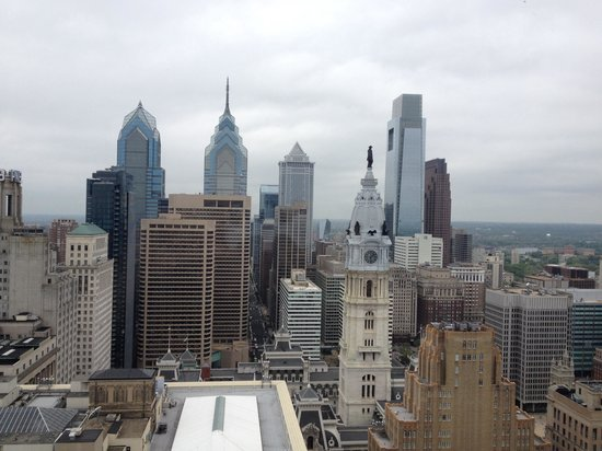 Loews Philadelphia Hotel: Room with a view #3207