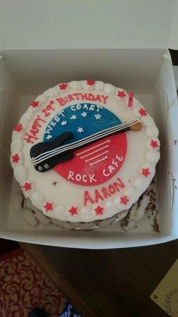 West Coast Rock Cafe: My husbands birthday cake