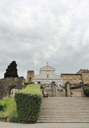 Basilica San Miniato al Monte: The cemetery of the basilica