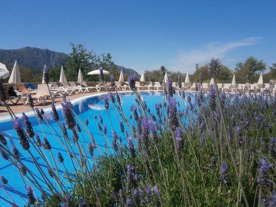 Hotel Fuerte Grazalema : view at the swimming pool