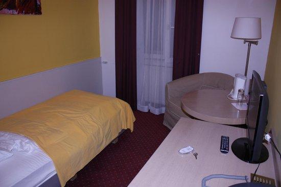 Westbahn Hotel: номер
