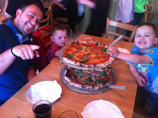 Cal's Own: Amazing Pizza Pie!