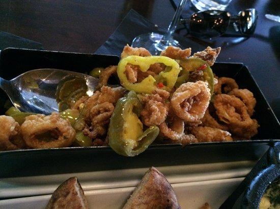 Legal C Bar: Crispy Montauk Calamari Rhode Island Style