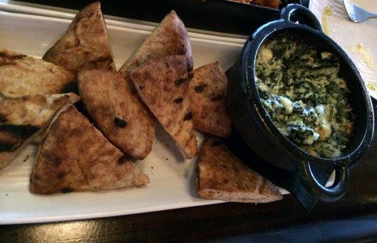 Legal C Bar: Warm Spinach and Feta Dip
