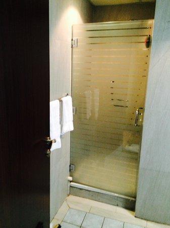 Nawazi Watheer Hotel: Shower room