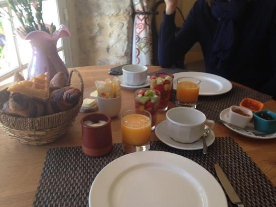 Hotel du Clos: Ottima colazione