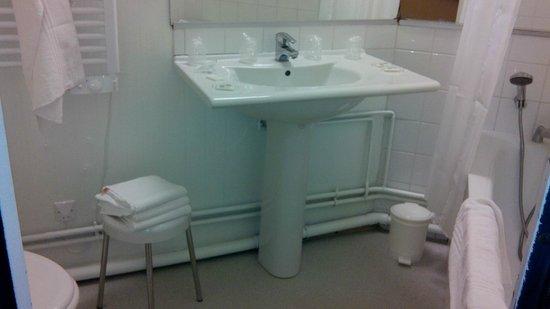 Ibis Styles Deauville Centre: sdb propre mais peu de rangements