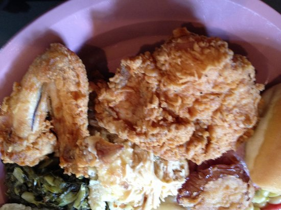 The Bulloch House Restaurant: Fried Chicken