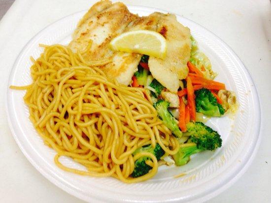 Ishikawa : Tilapia Fish with Vegetable and Noodle