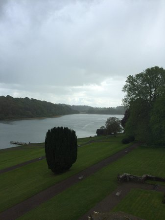 Castle Leslie Estate: View from Shane's room
