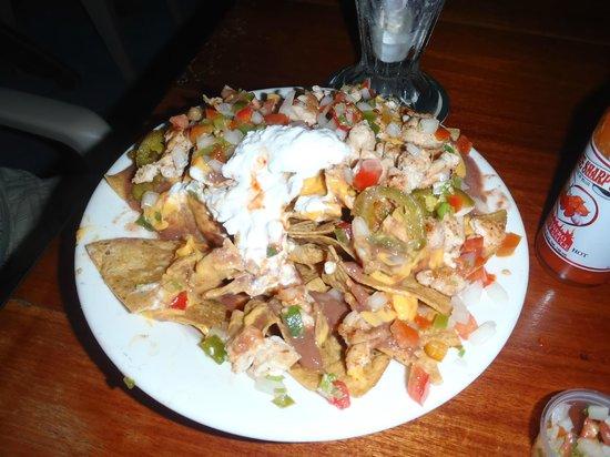 Rainbow Grill: nachos