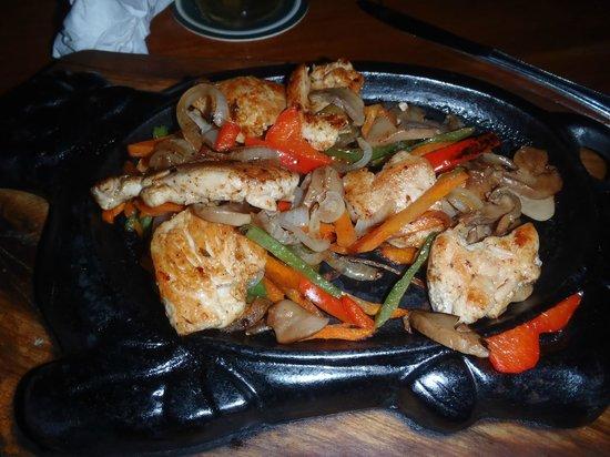 Rainbow Grill: fajita's