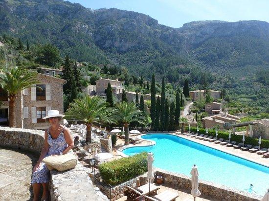 Belmond La Residencia: view to the mountains