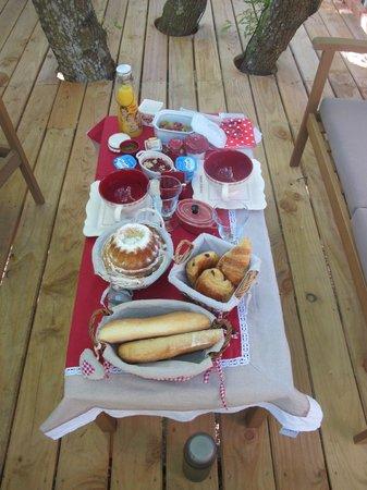 Lo Rey du Lac: petit déjeuner