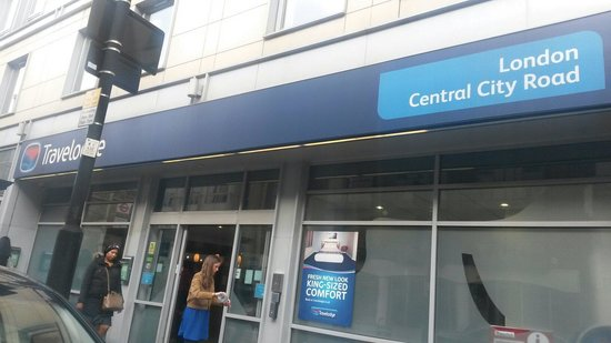 Travelodge London Central City Road : Esterno entrata