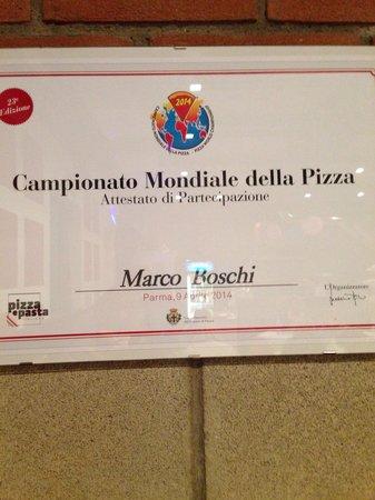 Pizzeria I Nani: Partecipatzione campionato pizza
