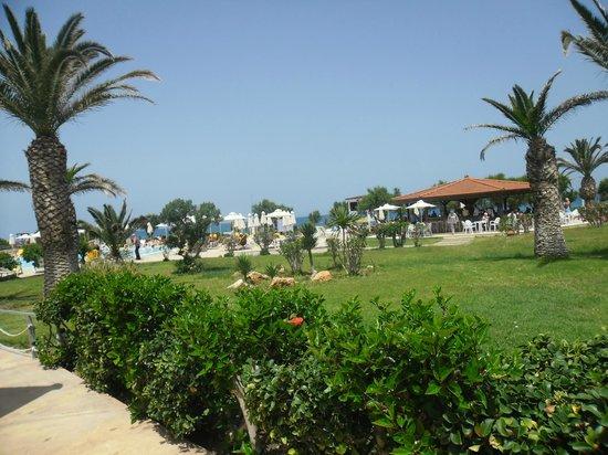 SunConnect Zorbas Village : Widok na otoczenie basenu