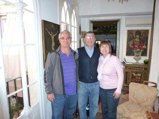 La Corte Degli Angeli : Carlos, wonderful host