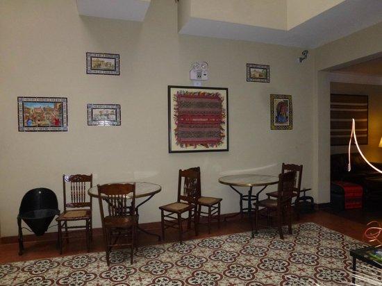 Hotel Casa Suyay: salon