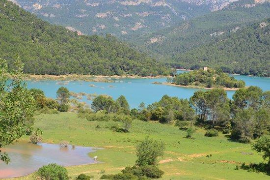 Parque Natural Sierra de Cazorla: Vistas desde el mirador de Félix Rodríguez de la Fuente