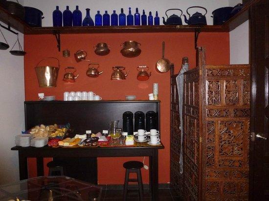 Hotel Casa Suyay: salle petit dej