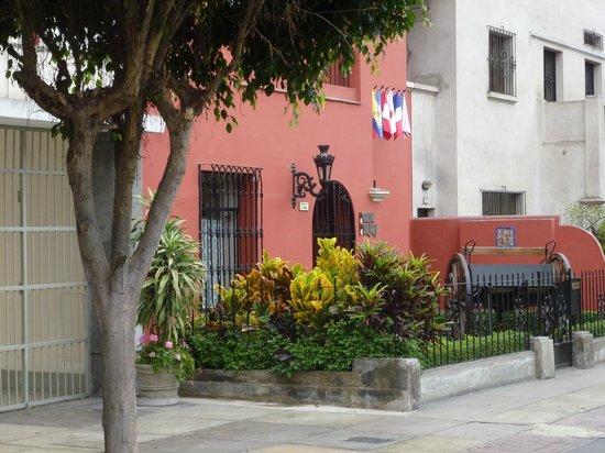Hotel Casa Suyay: entree