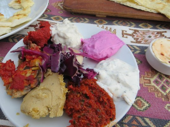 Hanedan Turkish Tapas & Grill: A selection of mezze