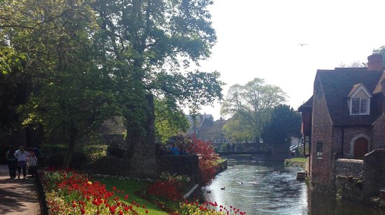 Westgate Gardens: The Canal