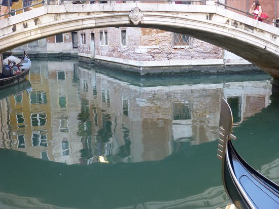 Residence Corte Grimani : Canal view