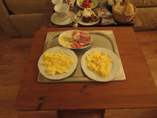 A Florence View B&B : Eggs and bacon