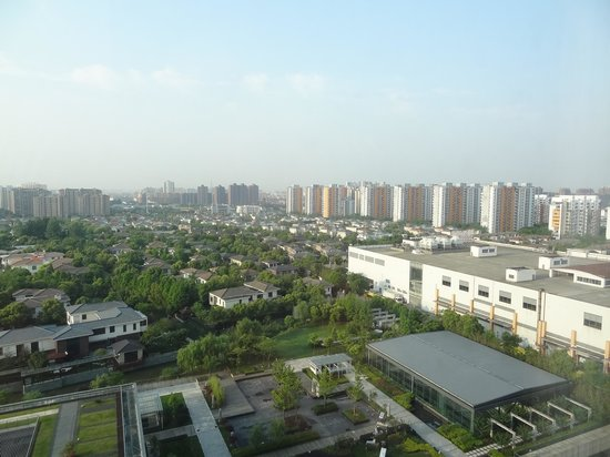 Holiday Inn Shanghai Pudong Kangqiao: view from room on 12 floor