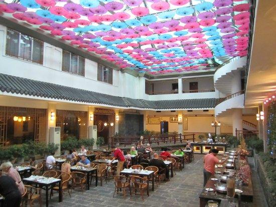 New Century Hotel : Breakfast room