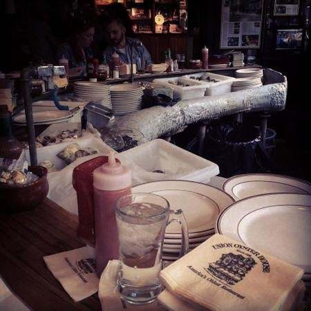 Union Oyster House: Love!