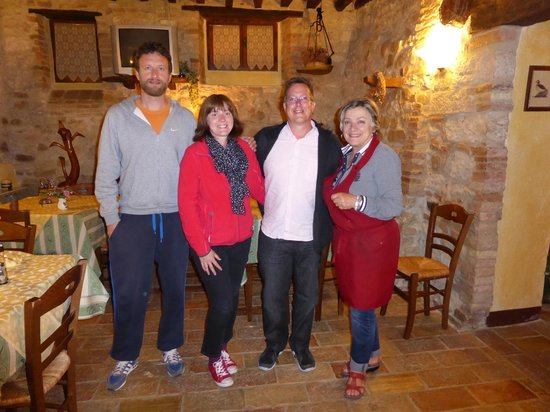 Agriturismo Casale dei Frontini : Michele and Silvana