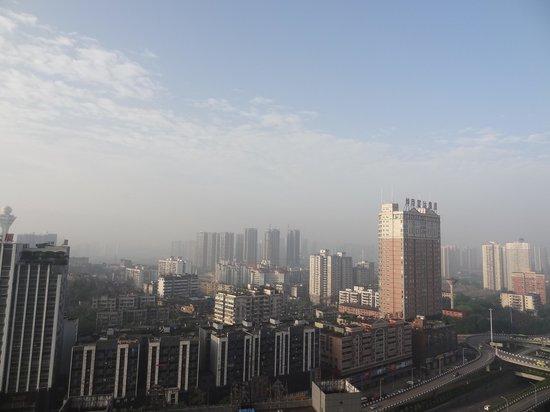 Sofitel Forebase Chongqing : view from the room