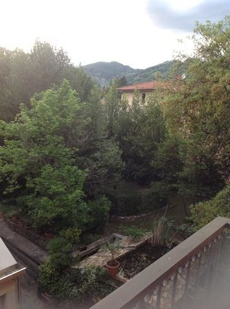 Villa delle Rose: This was the view from our room balcony.