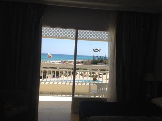 Hotel Riu Marillia: view from our room 306