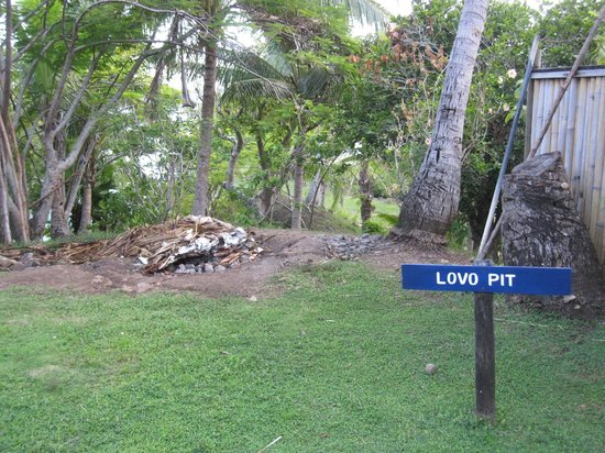 Wananavu Beach Resort: Lovo Pit