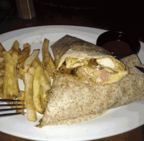 Cafe Agua Azul: The chicken wrap