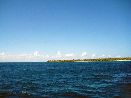 Isla Saona : View from the Catamaran